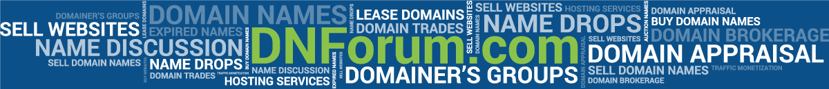 DNForum.com - Buy, Sell, and Talk Domain Names